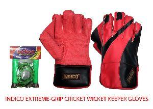 Extreme-Grip Cricket Wicket Keeper Gloves