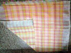 Shibori Linen Saree