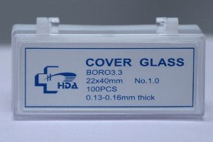 Imported Microscope Cover Glass