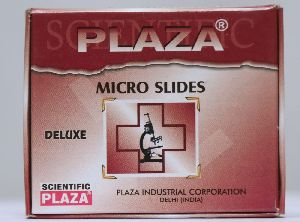Plaza Deluxe Microscope Glass Slide