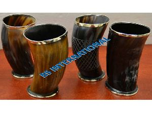 Drinking Horn Glass