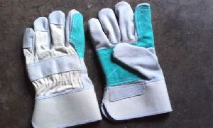 Double Palm Leather Working Gloves