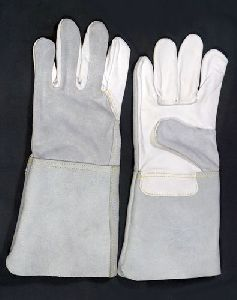 Grain Leather Welding Gloves