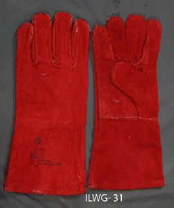 Long Leather Welding Gloves