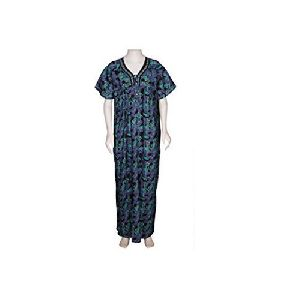 Ladies Nightwear Cotton Gown