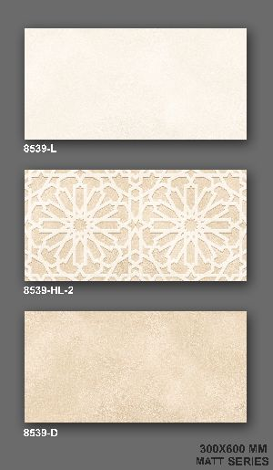 8539-HL-2 Matt Finish Wall Tile