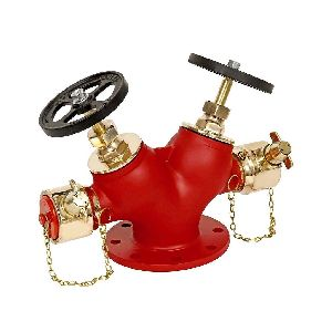 Double Fire Hydrant Valve