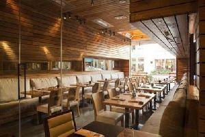 Modern Wooden Restaurant