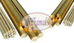 Brass Extrusion Hex Rods