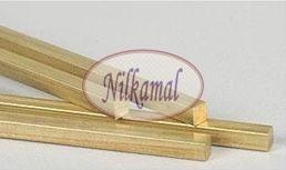 Brass Extrusion Square Rods
