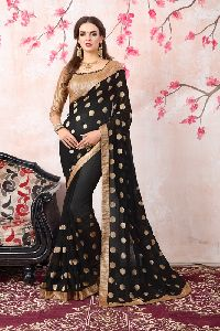 Angel Georgette Designer Saree