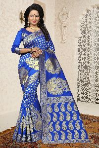 Aradhana Banarasi Silk Wedding Saree