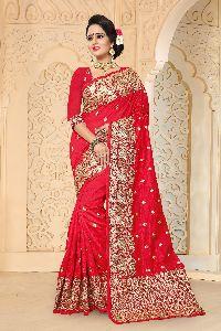 Aradhana Zoya Art Silk Wedding Saree