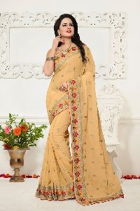 Georgette Fancy Festival Saree