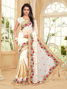Georgette New Year Designer Saree