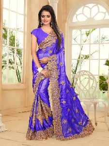 Georgette New Year Festival Saree