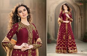 Ladies Bangalori Silk Suit