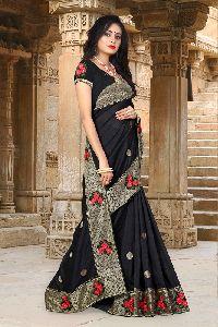 Pehnava Vichitra Silk Designer Saree