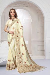 Silk Satin Heritage Festival Saree