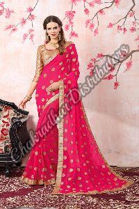 Angel Georgette Festival Saree