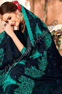 Anupriya Georgette Embroidered Casual Saree