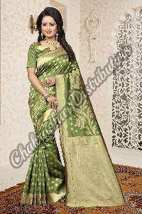 Aradhana Banarasi Silk Party Wear Saree
