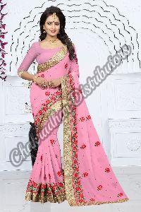Aradhana Georgette Silk Party Wear Saree