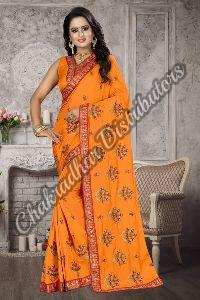 Aradhna Zoya Silk Wedding Saree