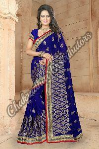 Bridal Royal Georgette Festival Saree