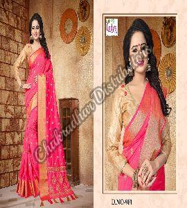 Chakradhar Silk Bollywood Saree