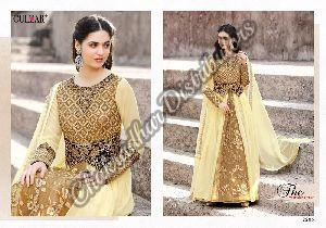 Faux Georgette Ladies Suit