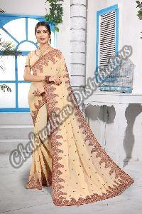 Georgette Kashmiri Queen Festival Saree