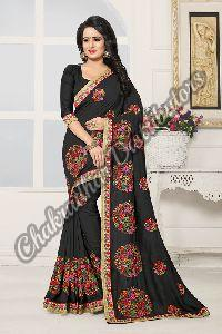 Kashmiri Beauty Vichitra Silk Festival Saree