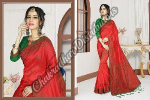 Magic Girl Silk Wedding Saree