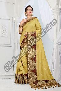 Magrita Vicitra Silk Wedding Saree