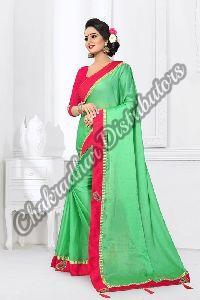 Monthan Silk Satin Bollywood Saree
