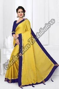 Monthan Silk Satin Designer Saree