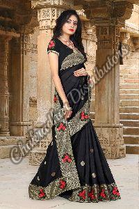 Pehnava Vichitra Silk Designer Saree