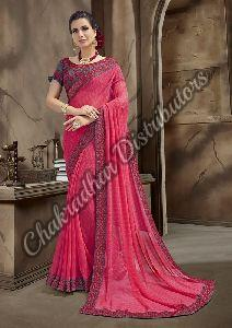 Smile Georgette Casual Saree