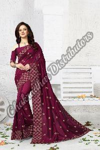 Vanya Vichitra Silk Party Wear Saree