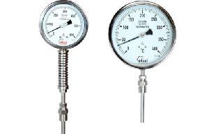 Gas Filled Temperature Gauge