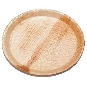 12 Inch Round Areca Leaf Plate