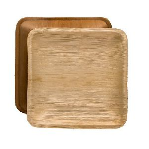 4 Inch Square Areca Leaf Plate
