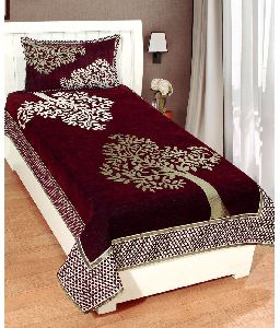 Embroidered Single Bedsheet