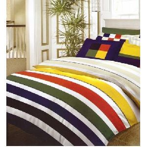 Multicolor Double Bed Sheet