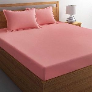 Plain Double Bed Sheet