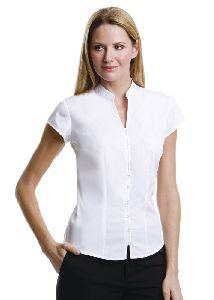 Womens Chinese Collar Shirt