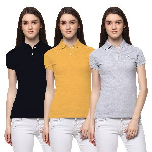 Womens Polo T- Shirt