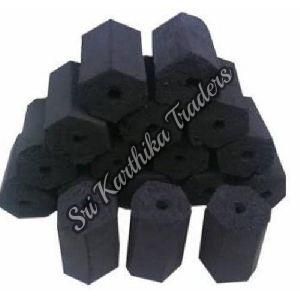 Hexagonal Charcoal Briquettes