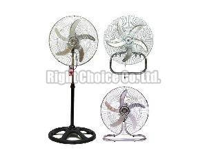 360 Degree Metal Grill Pedestal Fan